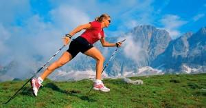 Скандинавско ходене - спорт за сваляне на килограми
