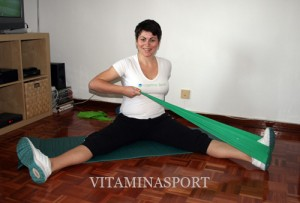 Упражнения с ластици за бременни - предпазват ставите и дават мускулен тонус на бъдещите майки